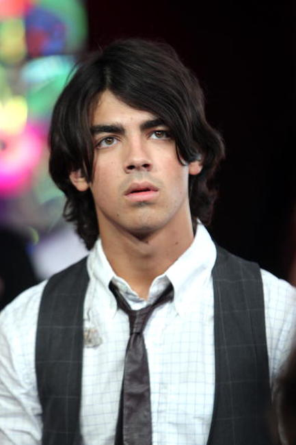 Joe Jonas at the MTV's Total Request Live.
